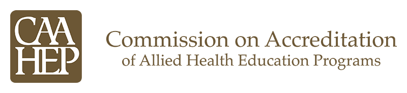 Commission on Accreditation of Allied Health Education Programs logo